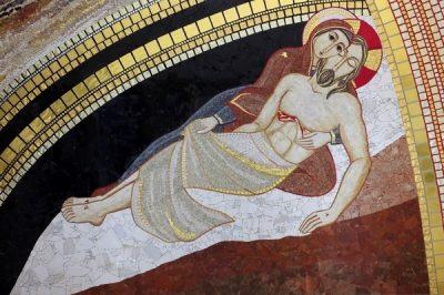 Kaplica Chrzcielna – ściana boczna
