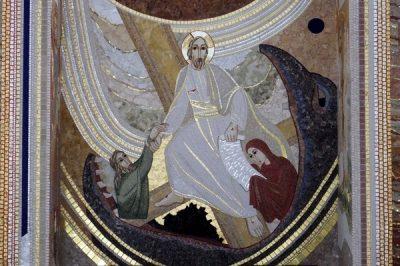 Prezbiterium – ściana centralna 3