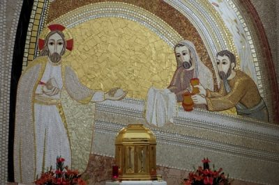 Kaplica Najświętszego Sakramentu – za tabernakulum
