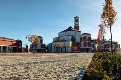 Sanktuarium – założenie urbanistyczne