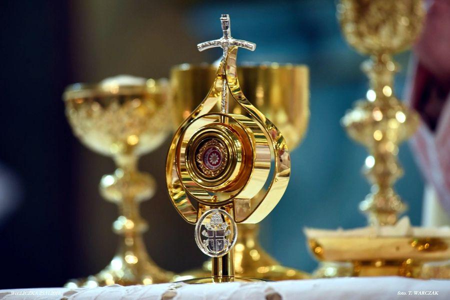 Relikwie św. Jana Pawła II w Wieliczce