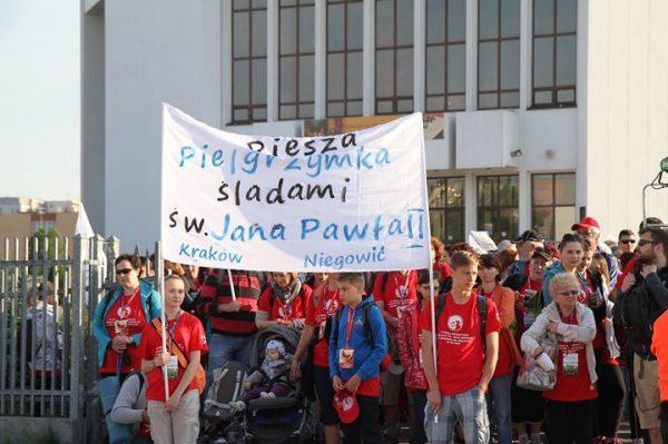 VIII Piesza Pielgrzymka z Krakowa do Niegowici