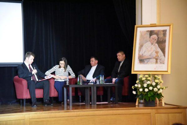 """Konferencja """"Wadowice 7 czerwca 1979 – czterdzieści lat później"""""""