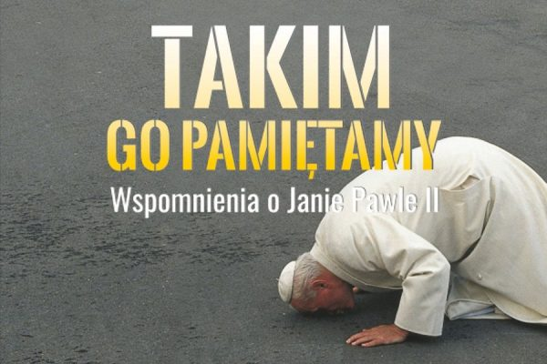 """Grzegorz Gałązka gościem kolejnego spotkania z cyklu """"Takim Go pamiętamy. Wspomnienia o Janie Pawle II"""""""