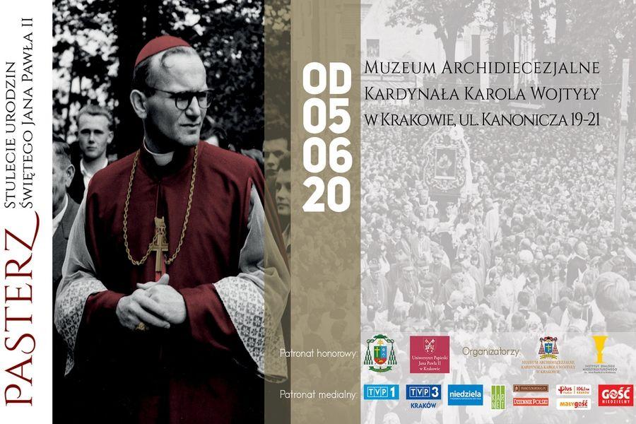 """Wernisaż wystawy """"Pasterz"""" w Muzeum Archidiecezjalnym kard. Karola Wojtyły"""