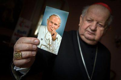 """Kard. Stanisław Dziwisz: Jan Paweł II jest ojcem """"Solidarności"""""""