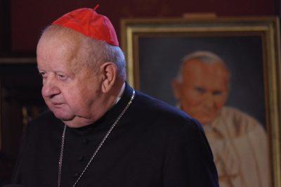 Kard. Stanisław Dziwisz podczas Dni Jana Pawła II: Jan Paweł II i co dalej?
