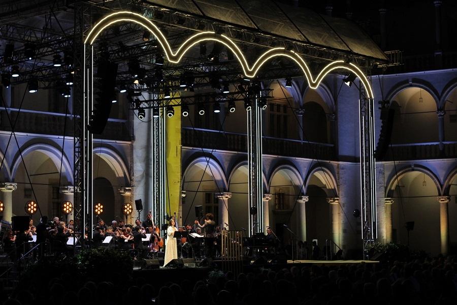 Koncert w hołdzie św. Janowi Pawłowi II na Wawelu